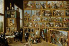 David Teniers the Younger, Archduke Leopold William in his Gallery at Brussel, 1650-1652.