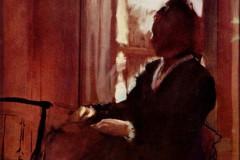 Edgar Degas, Woman at a Window, 1872.