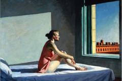 Edward Hopper, Morning Sun, 1952.
