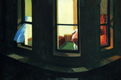 Edward Hopper, Night Windows, 1928.