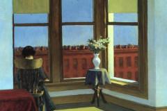 Edward Hopper, Room in Brooklyn, 1932.