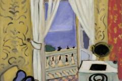 Henri Matisse, Interior with a Violin Case, Nice, winter, 1918-19.