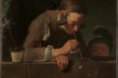 Jean Simeon Chardin, Soap Bubbles, 1733-1734.