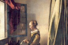 Johannes Vermeer, Girl Reading a Letter at an Open Window, 1657-59.