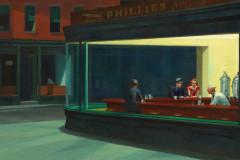 Edward Hopper, Nighthawks, 1942.
