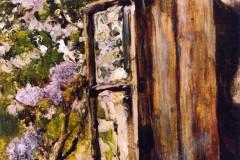 Valentin Aleksandrovich Serov, Open Window, Lilac, 1886.