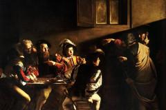 Caravaggio Michelangelo da Merisi, The Calling of Saint Matthew, 1599-1600.