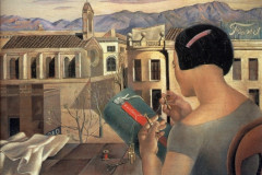 Salvador Dali, Woman at the window in Figueres, 1926.