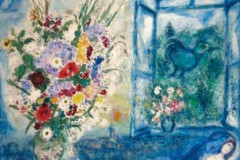 Marc Chagall, Bouquet by the Window, 1959–1960.