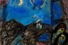 Marc Chagall, Evening at the Window, 1950.