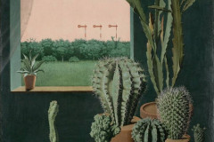 George Scholz, Cacti and Semaphore, 1923.