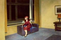 Edward Hopper, Hotel Window, 1955.
