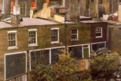 Lucian Freud, Waste Ground with Houses, Paddington, London, 1970-1972.
