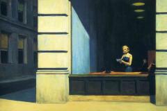 Edward Hopper, New York Office, 1962.