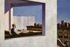Edward Hopper, Office in a Small City, 1953.