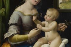 Raphael Sanzio, The Madonna of the Pinks ('La Madonna dei Garofani'), 1506-1507.