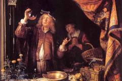 Gerrit Gerard Dow, The Doctor Checks the Urine, XVII century.