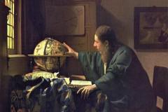 Johanes Vermeer, The Astronomer, 1668.
